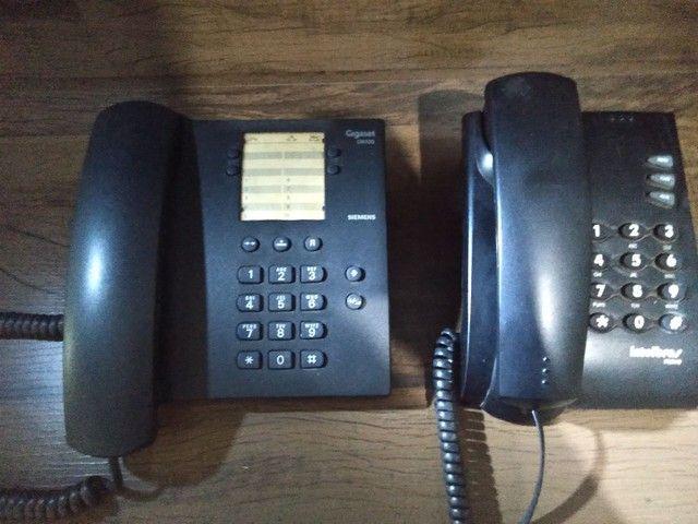 2 Telefones fixos