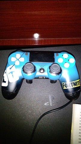 Controle PS 4 Steelf modelo Fortnite