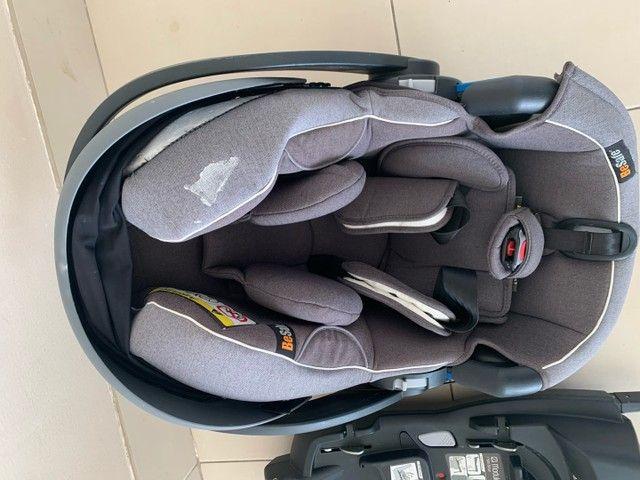 Bebê conforto Besafe + base do carro Besafe  - Foto 5