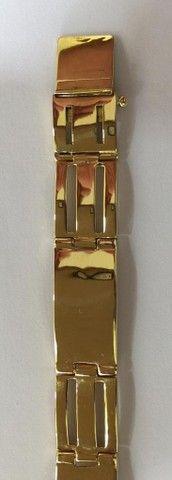 Bracelete Masculino em Ouro 18K - Foto 2