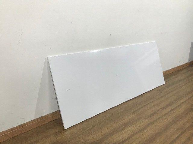 Cabeceira branca para cama de casal - Foto 3