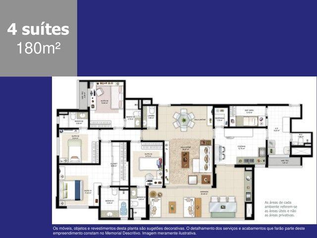 Apartamento a venda com 4 suítes com 180m² em Ludco Greenville - Foto 17