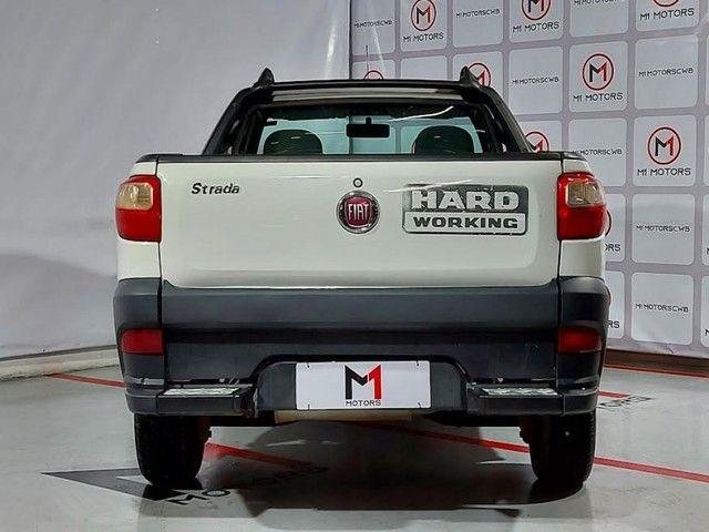 FIAT STRADA HARD WORKING 1.4 MPI FLEX CS 2P MANUAL - 2019 - BRANCO - Foto 4