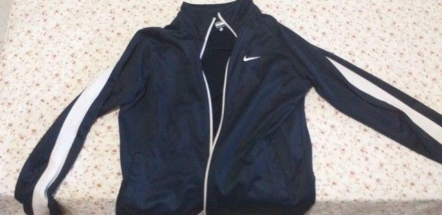 Conjunto Unissex Nike Original na embalagem calça + jaqueta - Foto 2