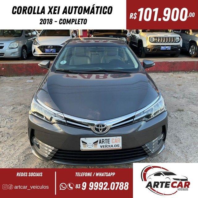 Toyota Corolla xei 2018 automático !!40 mil km - Foto 10