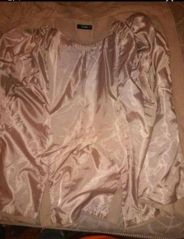 Casaco de lã Batida e Cardigã - Foto 5