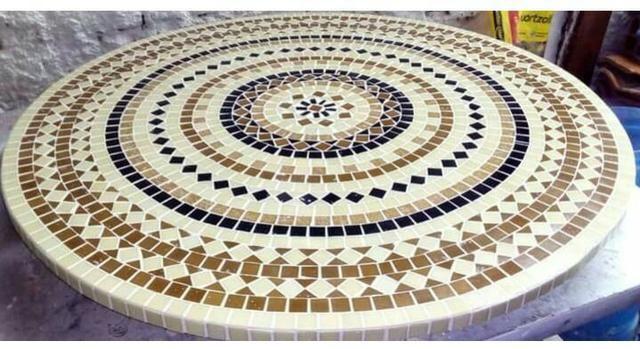 Tampo de mesa mosaico varios modelos sob medida - Foto 2