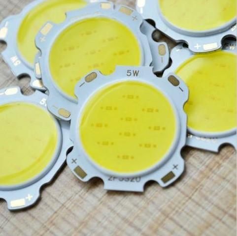 COD-CP22 KIT 2 Leds COB 5W Branco Quente Arduino Automação Robotica - Foto 2