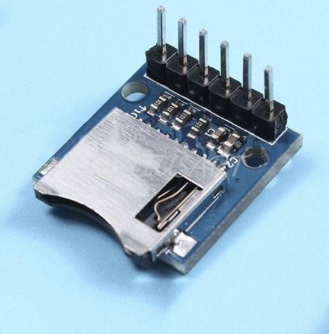 COD-AM115 Modulo Leitor De Cartão Micro Sd Arduino Automação Robotica - Foto 3