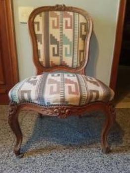 Cadeira estilo Luix XV - Foto 6