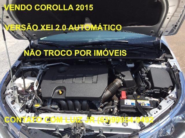 Corolla Xei 2015 - 04 pneus Michelin Zero - Documento pago - Estado de Zero - Foto 16