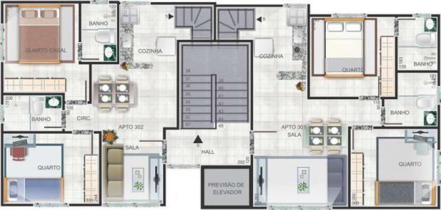 Vendo apartamento com cobertura no inconfidência! - Foto 5