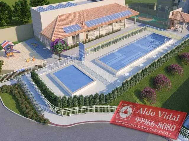 ARV109- Apartamento 2 Q + 1 Múltiplo Uso no Vista do Horizonte, J.Limoeiro , Serra E.S - Foto 12