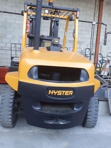 Empilhadeira Hyster FT capacidade 7,0 ton - Foto 3