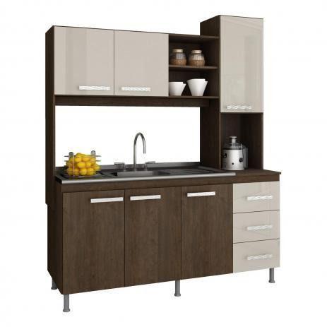 Cozinha compactada mista 1,60 - Foto 2