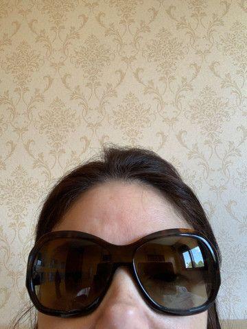 Óculos Versace marrom tartaruga  - Foto 5