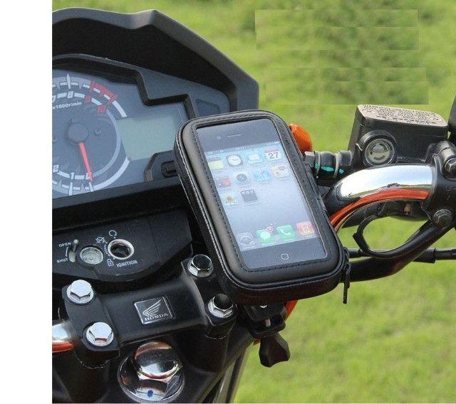 Suporte Para Celular Moto Capa A Prova Dágua De Guidão para moto