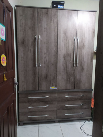 Guarda-roupas 4 portas solteiro - Foto 4