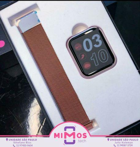 Relógio SmartWatch P70 2 Pulseiras - Foto 2