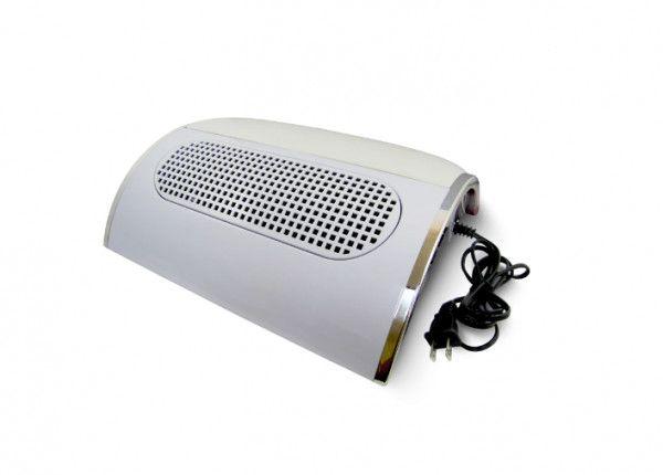 Coletor de pó para unhas com ventilador triplo 858-5 - Foto 3