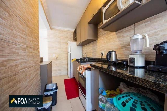 Apartamento com 2 dormitórios para alugar, 54 m² por R$ 1.800,00/mês - Protásio Alves - Po - Foto 12