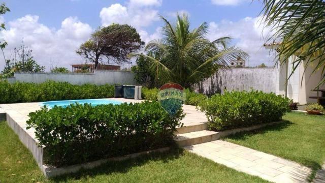 Casa com 3 dormitórios à venda, 180 m² por R$ 420.000,00 - Loteamento Praia Bela - Pitimbú - Foto 4