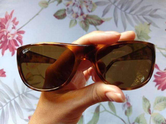 Óculos de sol Ray-Ban Unissex - excelente conservação - Foto 4