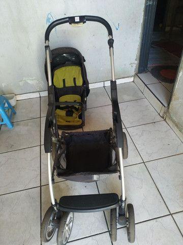 Carrinho de bebê conservado - Foto 3