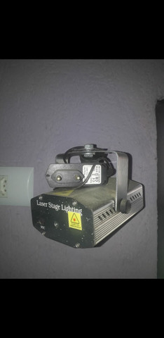 Projetor laser LED desenhos