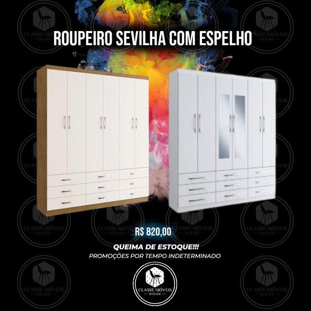 Roupeiro Sevilha/ Roupeiro Sevilha Branco