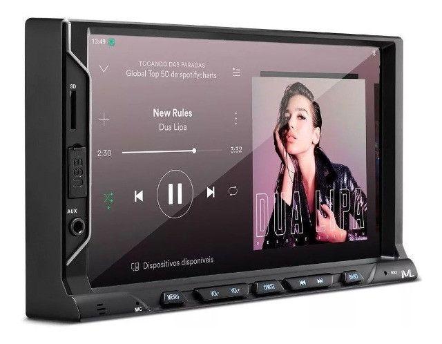 Central Multimídia Multilaser Evolve Fit Mp5 Bluetooth Usb - Foto 3