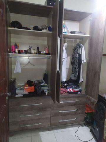 Guarda-roupas 4 portas solteiro - Foto 6