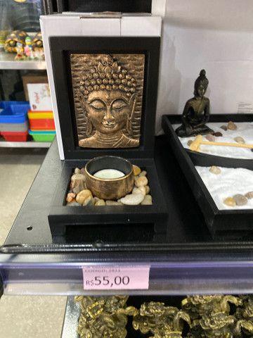 Buda decorativo por 55 reais cada