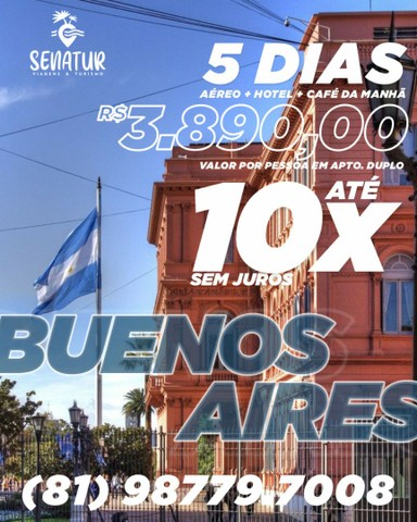 Pacote Buenos Aires- Argentina