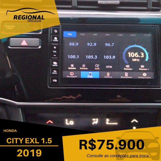 CITY Sedan EXL 1.5 Flex  16V 4p Aut. - Foto 13