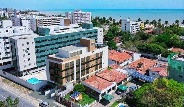 Flat com 1 dormitório à venda, 19 m² por R$ 176.990 - Cabo Branco - João Pessoa/PB - Foto 4
