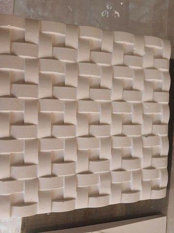 Promoção gesso placa 3D 1,90 unidade