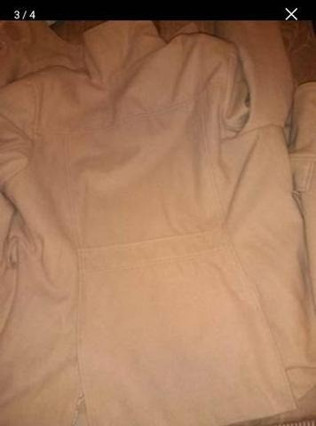 Casaco de lã Batida e Cardigã - Foto 4