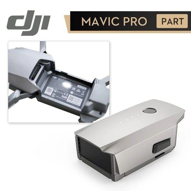 DJI Mavic Pro Bateria Só Peça Original Temos Cabo Flex Gimbal Board Hélices - Foto 6