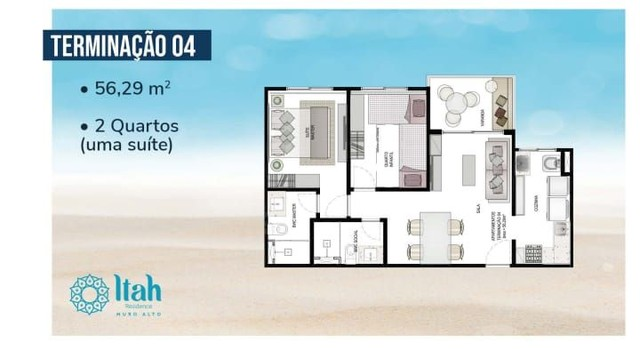 Apartamento térreo com 3 dormitórios, 2 vagas,2 suítes à venda, 73m² por R$ 1000.000 - Pra - Foto 17