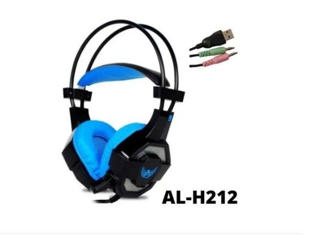Fone De Ouvido Gamer Para Pc Celular Ps4 Headset Altomex - Foto 5