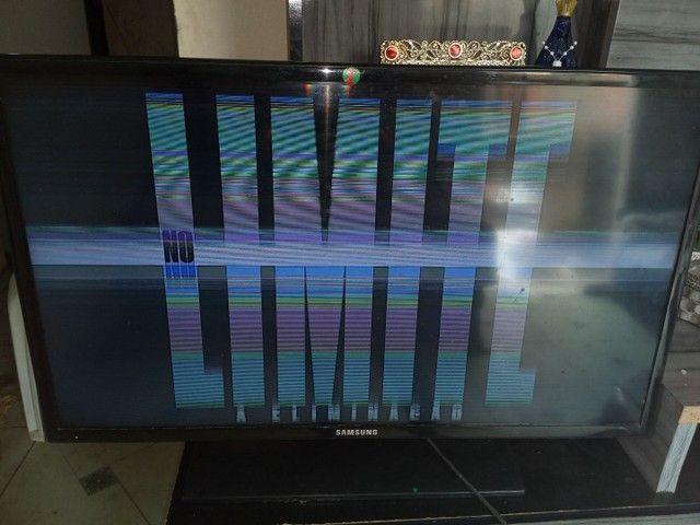 TV SAMSUNG LED 32 ' com defeito na imagem - Foto 4
