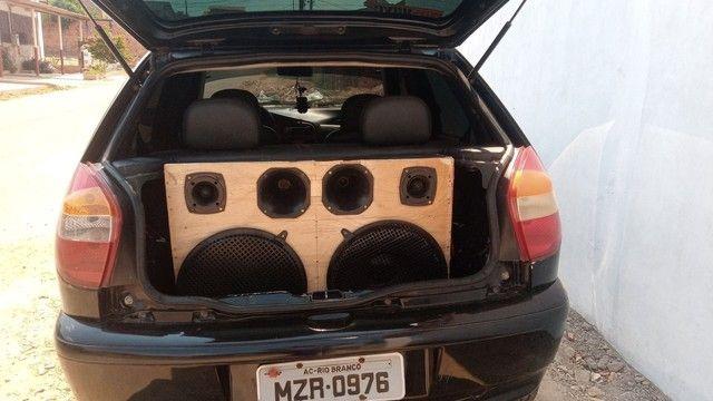 Vendo ou troco essa caixa de som por 500$ - Foto 5