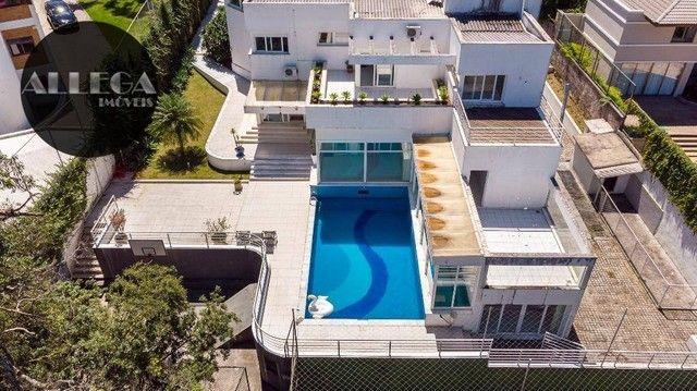 Casa com 5 quartos, 4 suítes, 2 piscinas privativas, à venda, 750 m² por R$ 4.400.000 - Ca
