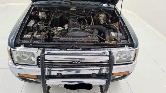 Raríssima Hilux sw4 2.8 4x4 diesel  1994 - Foto 5