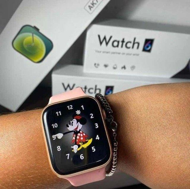 Relógio Smartwatch AK76 - Foto 6