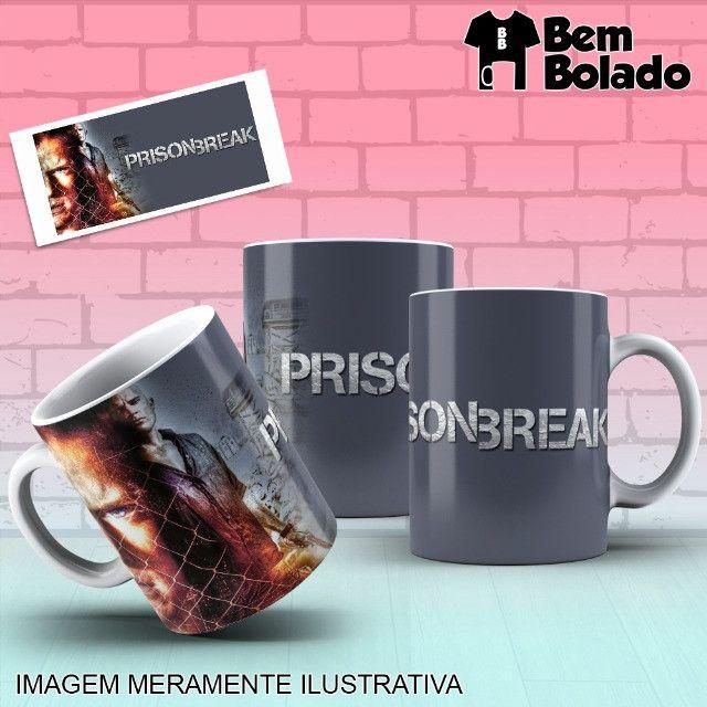 Caneca Prison Break Série Netflix