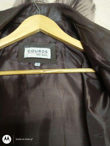 Jaqueta de couro original feminino - Foto 4