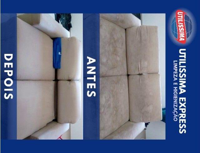 Limpeza e Higienização de Estofados - Foto 2