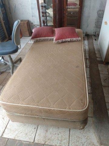 Vendo cama box  de solteiro, usado - Foto 2